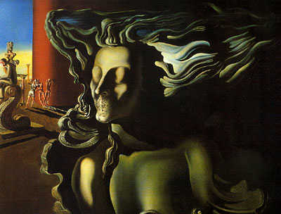 The Dream, by Salvador Dali 1931.