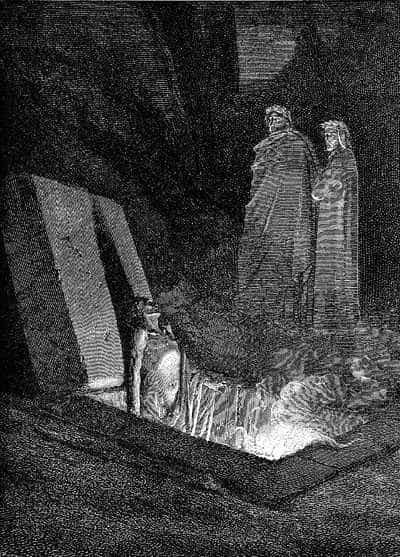 Illustration to Inferno of Dante's Divine Comedy, by Gustave Dor�, 1857.