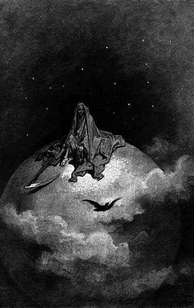 The Reaper, by Gustave Doré.