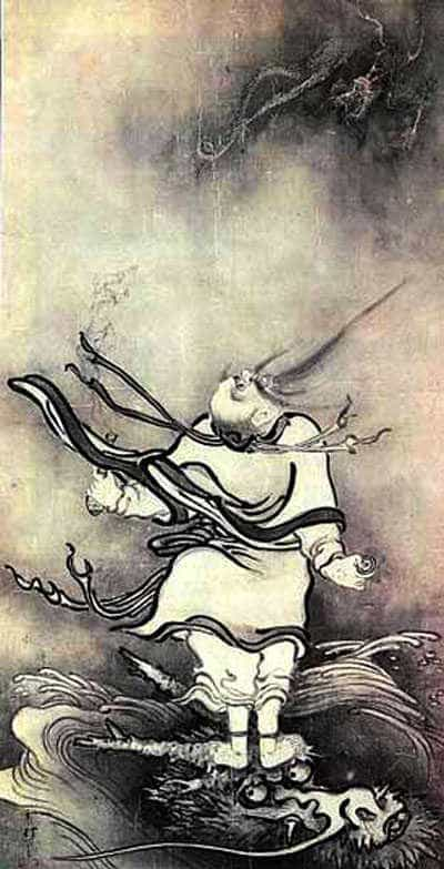 The Taoist immortal Lu Tung-Pin.