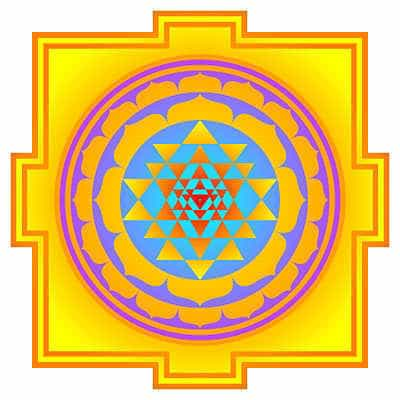 Yantra, image used in tantra.